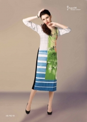 Feminista star printed creape casual wear kurti catalog BY GOSIYA EXPORTS (9)
