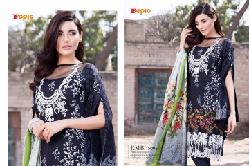 FEPIC ROSEMEEN LAWN EDITION CAMBRIC COTTON PAKISTANI STYLE WHOLESALE RATE AT SURAT GOSIYA EXPORTS WHOLESALE DEALER AND SUPPLAYER SURAT GUJARAT (1)