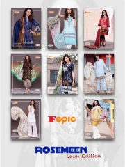 FEPIC ROSEMEEN LAWN EDITION CAMBRIC COTTON PAKISTANI STYLE WHOLESALE RATE AT SURAT GOSIYA EXPORTS WHOLESALE DEALER AND SUPPLAYER SURAT GUJARAT (10)