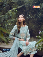 FEPIC ROSEMEEN PRIDE CATALOG GEORGETTE EMBROIDERED PAKISTANI STYLE WHOLESALE BEST RATE BY GOSIYA EXPORT SURAT (3)
