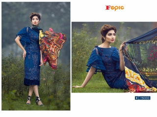 FEPIC ROSEMEEN PRIDE CATALOG GEORGETTE EMBROIDERED PAKISTANI STYLE WHOLESALE BEST RATE BY GOSIYA EXPORT SURAT (8)