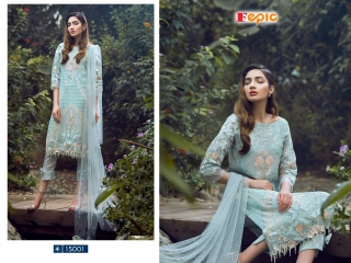 FEPIC ROSEMEEN PRIDE CATALOG GEORGETTE EMBROIDERED PAKISTANI STYLE WHOLESALE BEST RATE BY GOSIYA EXPORT SURAT (9)