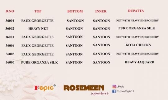 FEPIC ROSEMEEN SIGNATURE GEORGETTE  (10)