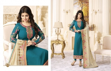 FIONA FASHION AAYESHA VOL 21 CATALOG GEORGETTE SUITS WITH HEAVY DUPATTA PARTY WEAR (1)