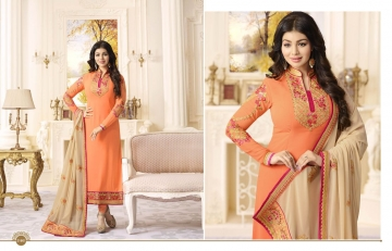 FIONA FASHION AAYESHA VOL 21 CATALOG GEORGETTE SUITS WITH HEAVY DUPATTA PARTY WEAR (2)