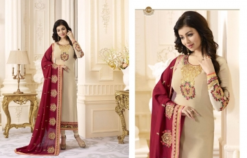 FIONA FASHION AAYESHA VOL 21 CATALOG GEORGETTE SUITS WITH HEAVY DUPATTA PARTY WEAR (3)