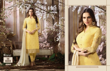 FIONA FASHION SAJEDHA CATALOGUE GEORGETTE STRAIGHT PATTERN E (3)