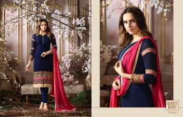 FIONA FASHION SAJEDHA CATALOGUE GEORGETTE STRAIGHT PATTERN E (6)