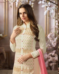 FIONA FASHION SAJEDHA CATALOGUE GEORGETTE STRAIGHT PATTERN