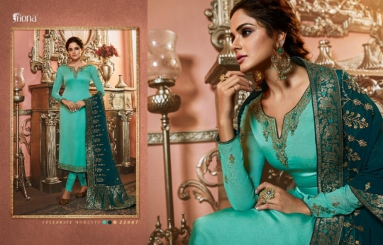 FIONA NAISHA 22661-22667 SERIES EXCLUSIVE DESIGNER INDIAN DRESSES WOMEN CLOTHING STORE WHOLESALE DEALER BEST RATE BY GOSIYA (10)