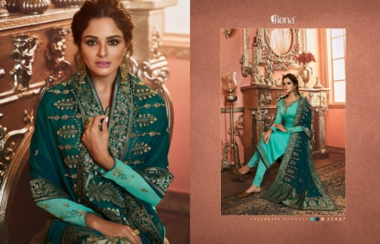 FIONA NAISHA 22661-22667 SERIES EXCLUSIVE DESIGNER INDIAN DRESSES WOMEN CLOTHING STORE WHOLESALE DEALER BEST RATE BY GOSIYA (11)