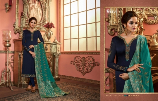 FIONA NAISHA 22661-22667 SERIES EXCLUSIVE DESIGNER INDIAN DRESSES WOMEN CLOTHING STORE WHOLESALE DEALER BEST RATE BY GOSIYA (12)