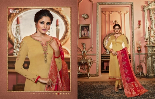 FIONA NAISHA 22661-22667 SERIES EXCLUSIVE DESIGNER INDIAN DRESSES WOMEN CLOTHING STORE WHOLESALE DEALER BEST RATE BY GOSIYA (15)