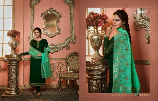 FIONA NAISHA 22661-22667 SERIES EXCLUSIVE DESIGNER INDIAN DRESSES WOMEN CLOTHING STORE WHOLESALE DEALER BEST RATE BY GOSIYA (22)