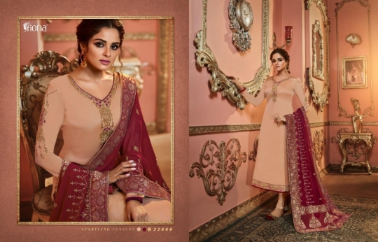FIONA NAISHA 22661-22667 SERIES EXCLUSIVE DESIGNER INDIAN DRESSES WOMEN CLOTHING STORE WHOLESALE DEALER BEST RATE BY GOSIYA (9)