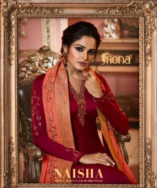FIONA NAISHA 22661-22667 SERIES EXCLUSIVE DESIGNER INDIAN DRESSES WOMEN CLOTHING STORE WHOLESALE DEALER BEST RATE BY GOSIYA EX (1)