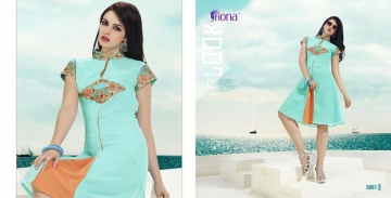 FIONA PEARL GEORGETTE KURTI CATALOG AT DISCOUNTED PRICE ON FULL SET BEST RATE (1)