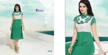 FIONA PEARL GEORGETTE KURTI CATALOG AT DISCOUNTED PRICE ON FULL SET BEST RATE (10)