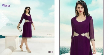 FIONA PEARL GEORGETTE KURTI CATALOG AT DISCOUNTED PRICE ON FULL SET BEST RATE (11)