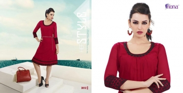 FIONA PEARL GEORGETTE KURTI CATALOG AT DISCOUNTED PRICE ON FULL SET BEST RATE (12)