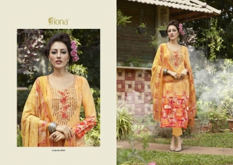 FIONA ZOHRA VOL 21 LAWN COTTON WITH EMBROIDERY WHOLESALE RATE AT GOSIYA EXPORTS SURAT (5)