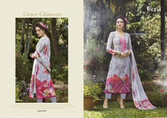 FIONA ZOHRA VOL 21 LAWN COTTON WITH EMBROIDERY WHOLESALE RATE AT GOSIYA EXPORTS SURAT (7)