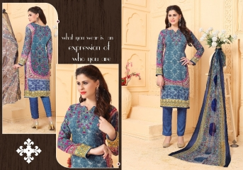 FIZA CATALOGUE PASHMINA DESIGNER SUITS WITH PURE DUPATTA COLLECTION WHOLESALE BEST RATE BY GOSIYA EXPORTS SURAT (2)