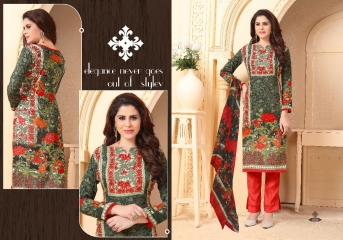 FIZA CATALOGUE PASHMINA DESIGNER SUITS WITH PURE DUPATTA COLLECTION WHOLESALE BEST RATE BY GOSIYA EXPORTS SURAT (4)
