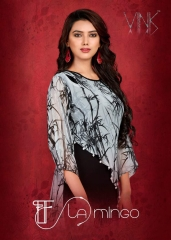 FLAMINGO BY VNK GEORGETE KURTI WHOLESALE RATE AT GOSIYA EXPORTS SURAT (6)