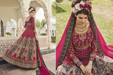 Floral raabta designer digital printed salwar gowns BY GOSIYA EXPORTS (2)