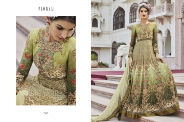 Floral raabta designer digital printed salwar gowns BY GOSIYA EXPORTS (7)