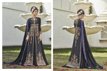 Floral raabta designer digital printed salwar gowns BY GOSIYA EXPORTS (9)