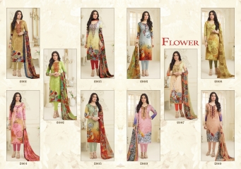 FLOWER VOL 1 SALWAR KAMEEZ WHOLESALE ONLINE DEALER FLOWER VOL 1 WHOLESAEL BEST RATE BY GOSIYA EXPORTS SURAT (10)