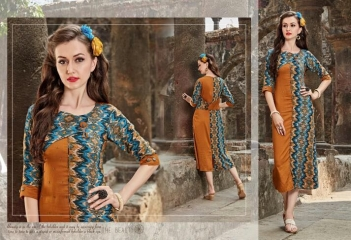 FOUR BUTTONS HAZEL FANCY DESIGNER KURTIS CATALOG BUT DESIGNER KURTIS IN WHOLESALE BEST RATE BY GOSIAY EXPORTS SURAT (11)