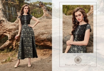 FOUR BUTTONS HAZEL FANCY DESIGNER KURTIS CATALOG BUT DESIGNER KURTIS IN WHOLESALE BEST RATE BY GOSIAY EXPORTS SURAT (5)