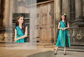 FOUR BUTTONS HAZEL FANCY DESIGNER KURTIS CATALOG BUT DESIGNER KURTIS IN WHOLESALE BEST RATE BY GOSIAY EXPORTS SURAT (8)