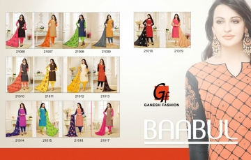 GANESH FASHION BAABUL CATALOG COTTON WORK SUITS COLLECTION WHOLESALE DEALER BEST RATE BY GOSIYA EXPORTS SURAT (14)