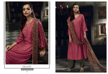 GANGA EKANT COTTON PRINTS WITH EMBROIDERED STRAIGHT PARTY WEAR COLLECTION T (8)