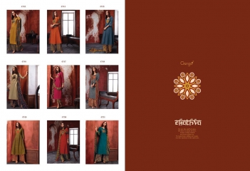 GANGA EKATHVA COTTON SATIN WHOLESALE SUITS COLLECTION SELLER SUPPLIER BEST RATE BY GOSIYA EXPORTS SURAT (10)