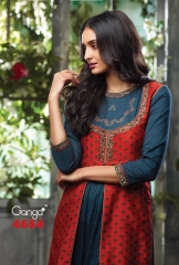 GANGA LATEST CATALOG 2014 FANY GOWN LONG SUIT GANGA CATALOG WHOLESALE BEST ARTE BY GOSIYA EXPORTS (2)