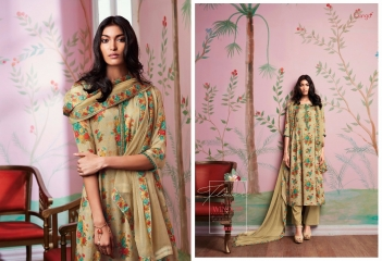 GANGA FLOWERS IN THE WINDOW NATURAL SILK FLOWERY PRINT SALWAR SUIT GANGA CATALOG WHOLESALE RATE BY GOSIYA EXPORTS (5)