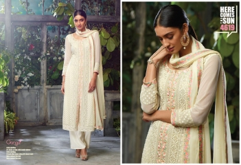 GANGA PRESENTS THE SUN PURE GEORGETTE SALWAR KAMEEZ WHOLESALE (1)