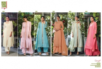 GANGA PRESENTS THE SUN PURE GEORGETTE SALWAR KAMEEZ WHOLESALE (7)
