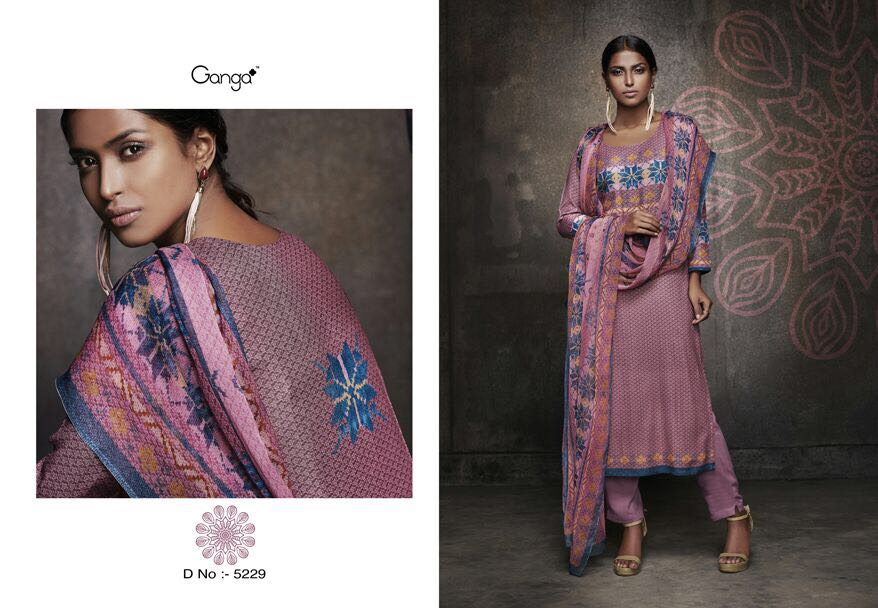 bac98fe406 GANGA RIVAAZ CATALOG WINTER COLLECTION PASHMINA SUITS COLLECTION WHOLESALE  SUPPLIER BEST (3)