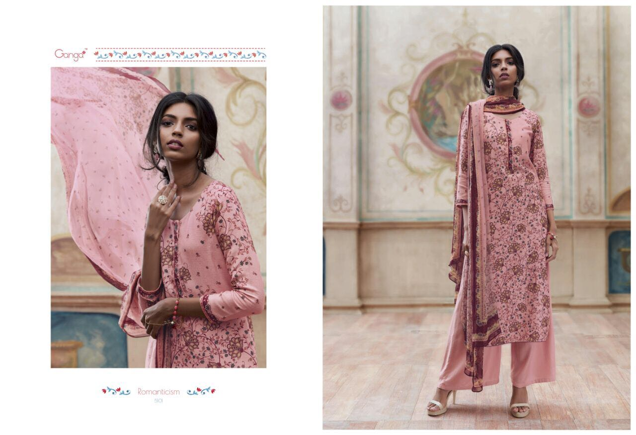ab3fab05f6 GANGA ROMANTICISM WINTER PASHMINA EMBROIDERED SOBER SUITS COLLECTION  WHOLESALE SUPPLIER BEST (1)