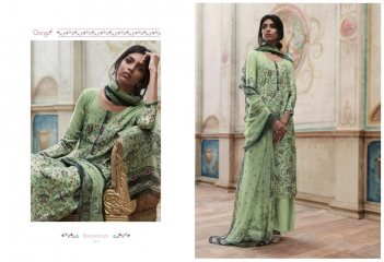 GANGA ROMANTICISM WINTER PASHMINA EMBROIDERED SOBER SUITS COLLECTION WHOLESALE SUPPLIER BEST (5)