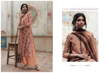 GANGA ROMANTICISM WINTER PASHMINA EMBROIDERED SOBER SUITS COLLECTION WHOLESALE SUPPLIER BEST (8)