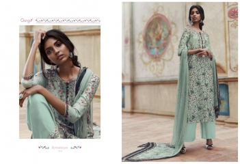 GANGA ROMANTICISM WINTER PASHMINA EMBROIDERED SOBER SUITS COLLECTION WHOLESALE SUPPLIER BEST (9)