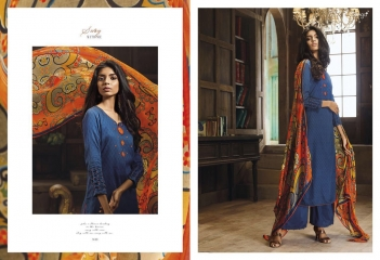GANGA SWAY WITH ME CATALOG COTTON SATIN PRINTS PARTY WEAR SALWAR KAMEEZ WHOLESALE BEST RATE BY GOSIYA EXPORTS SURAT (2)