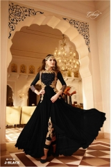 GLOSSY 7101 NEW COLORS WHOLESALE RATE AT GOSIYA EXPORTS SURAT WHOLESALE DEALER AND SUPPLAYER SURAT GUJARAT J-BLACK (1)